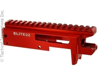 RED ELITE22™  BILLET PRECISION MACHINED REPLACEMENT 10/22® RECEIVER