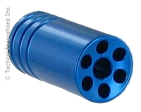 BlLUE FLASH HIDER FOR RUGER® 10/22® THREADED .920 BULL BARRELS