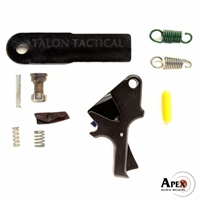 Apex Tactical Specialties, Flat-Faced Forward Set Trigger Kit, Works with Smith & Wesson M&P Pistols. Does Not Function With M&P M2.0, M&P Shield, BodyGuard, 22 or 22 Compact Pistols