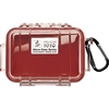 Pelican Model 1010 Micro Case - Red / Clear - 1010-028-100