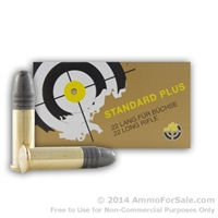 .22LR Standard Plus 40 Grain Lead Round Nose Ammo 500rds