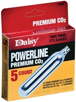 Daisy CO2 Jetts 12 Gram Cylinders 5 Per Pack - 7580