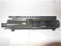 AR-15 Flat-Top Upper Receiver OD Green (Bushmaster Assembled)