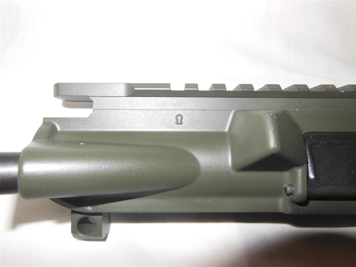 Ar 15 Flat Top Upper Receiver Od Green Bushmaster Assembled