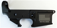 "Anderson Lower Receiver with THIS WE'LL DEFEND"" Logo AR-15 Stripped Lower Receiver"