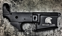 "Anderson Lower Receiver with ""SPARTAN MOLON LABE"" Logo AR-15 Stripped Lower Receiver"