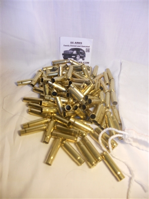 100pcs 300 Blackout Once Fired Brass Grade 2
