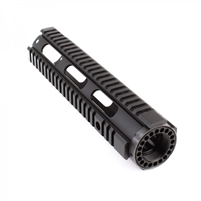"10"" AR-15 Mid Length Free Float Quad Rail"