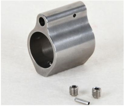 AR-15 Gas Block .750 Low Profile stainless steel