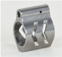 AR-15 Gas Block .750 Low Profile Arrow Stainless Steel