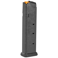 Magpul Industries, Magazine, PMAG, 9MM, 21Rd, Fits Glock 26 / 19 / 17 / 34 Black Finish