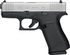 GLOCK 43X 9MM LUGER FS 10-SHOT BLACK FRAME SILVER SLIDE