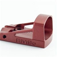SHIELD SIGHTS LTD. - COMPACT REFLEX MINI SIGHT CUSTOM BORDEAUX RED (RMSC) 4 MOA DOT