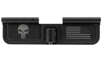SPIKES TACTICAL - EJECTION DOOR W/ PUNISHER & FLAG ENGRAVING