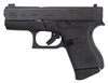 GLOCK 43 9MM LUGER FRONT NIGHT SIGHT 6-SHOT BLACK (TALO)