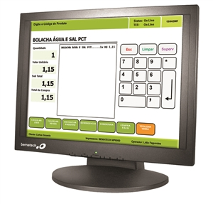 "Bematech LE1017M 17"" LCD Touch Screen"