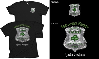 Ireland's Finest Police T-Shirt
