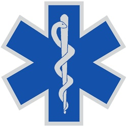 Star Of Life White Outline