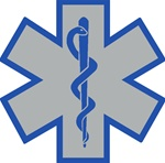 Star Of Life Blue Outline