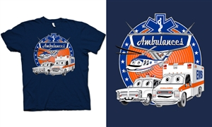 Ambulanes EMS Kids T-Shirt