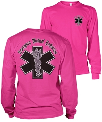 EMT Chrome LongSleeve T-Shirt