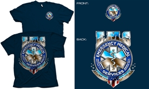 Badge of Honor EMS T-Shirt