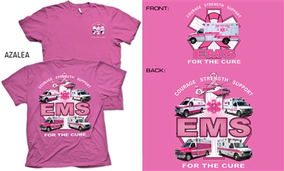 EMS For the Cure(Trucks) T-shirt