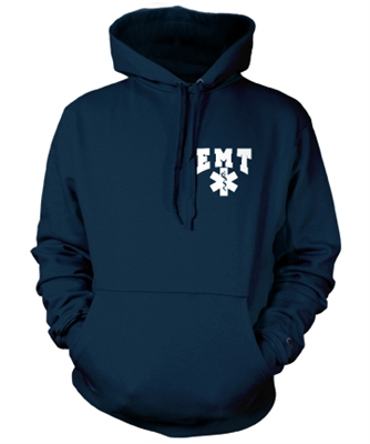 EMT Bold Star Hooded Sweatshirt