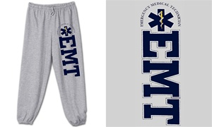 EMT College Style Sweatpants