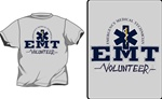 EMT College Style Volunteer T-Shirt