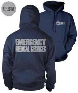 EMT Reflective Hooded Sweatshirt