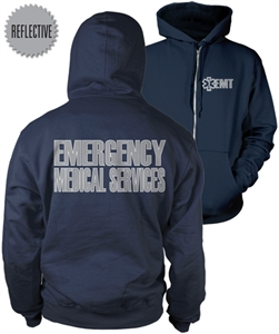 EMT Reflective Zip-Up Hoody