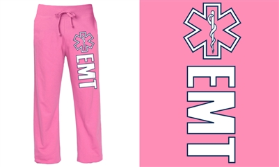 EMT Pink Duty Sweatpants