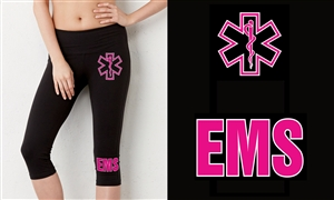 EMS Capri Yoga Pants