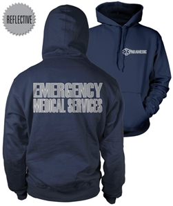 Paramedic Reflective Hooded Sweatshirt