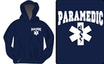 Paramedic Bold Star Hooded Sweatshirt
