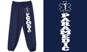 Paramedic Bold Star Sweatpants