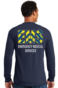 EMS safety stripe Long Sleeve T-shirt