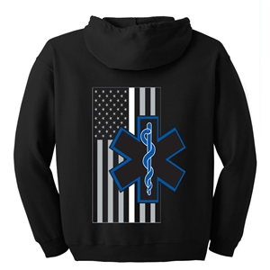 EMS Thin White Line Hooded Sweatshirt