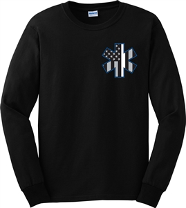 EMS Thin White Line Long Sleeve T-Shirt