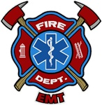 FD EMT Decal