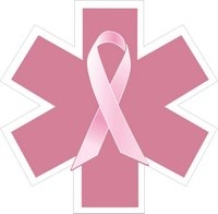 EMS Breast Cancer Awareness Decal