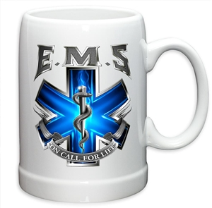 EMS on Call for Life Stoneware