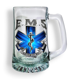 EMS on Call for Life Tankard Glass