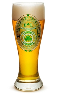 Fire Fighter Irish 23oz Pilsner Glass