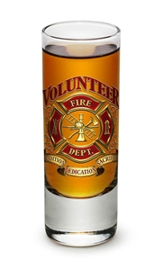 Firefighter Volunteer S2oz Shooter Glass