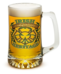 Fire Fighter Irish Hertitage 25oz Tankered Glass