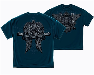 EMS Skull and Wings T-shirt