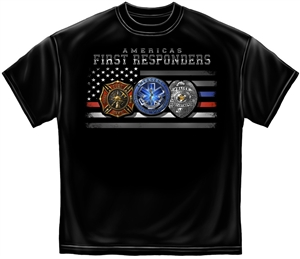 America's First Responders Hometown Heroes T-Shirt