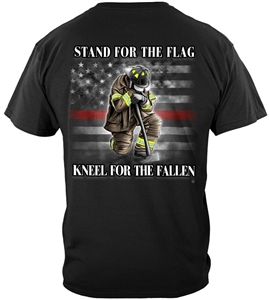 Firefighter Stand for the Flag Kneel for the Fallen